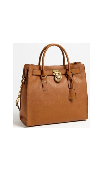 MICHAEL KORS Hamilton Large Tote Saffiano Leather SARISARI.NO